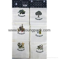 Personalized Custom Printed Lightweight White 100% Cotton Kitchen Tea Towel 9
