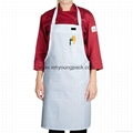 Promotional custom printed 100% cotton adults cooking apron