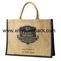 Personalized jute bag plain tote juco eco bags