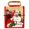 Personalized jute bag plain tote juco eco bags 11