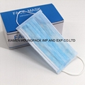 Stock High Quality Adult Disposable 3 Ply Non-Woven Face Mask