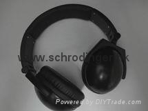 Active Noise Cancellation Headphones, Rechargeable Battery