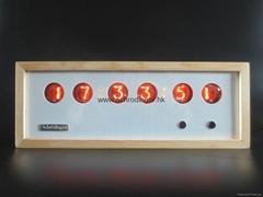 Nixie Tube Table & Desk Clock