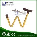 Hand pressure folding cane for elder