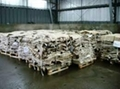 Salted cow hides 1