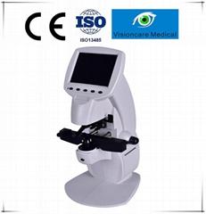 Optical Key Mode Auto Lensmeter with Blue Light Measurement