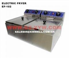 Electric Fryer EF-102 for Kitchen Equipment