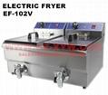 Electric Fryer EF-102V for Restaurant