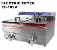 Electric Fryer EF-102V for Restaurant Equipment