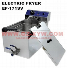 Electric Fryer EF-171SV for Cafeteria Equipments