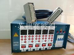 塑料模专用PID智能温控箱5点组温控箱