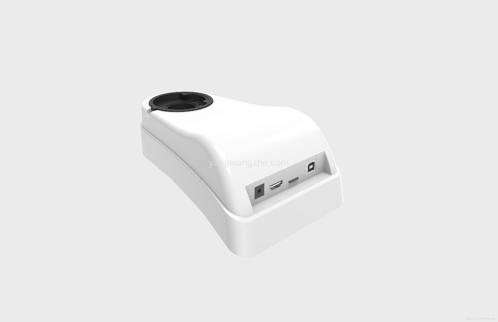 Trinocular converter for Olympus CX23 microsocpe 1