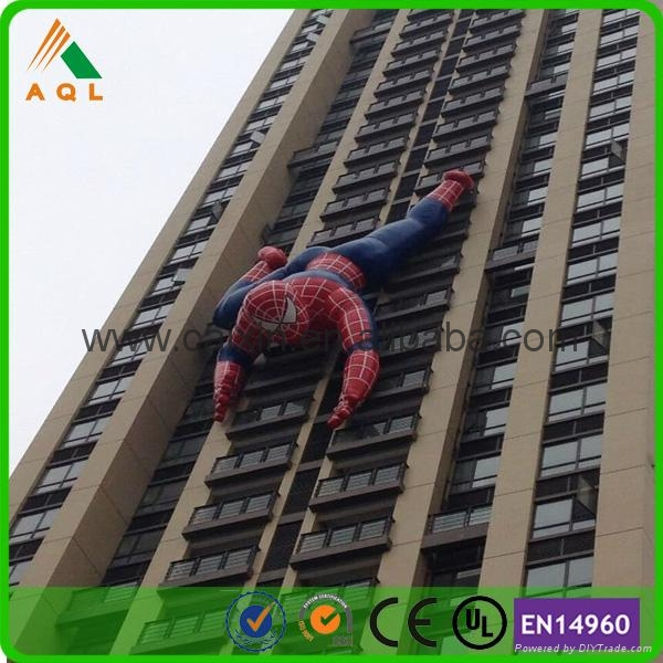 Electrifying giant inflatable spiderman 1