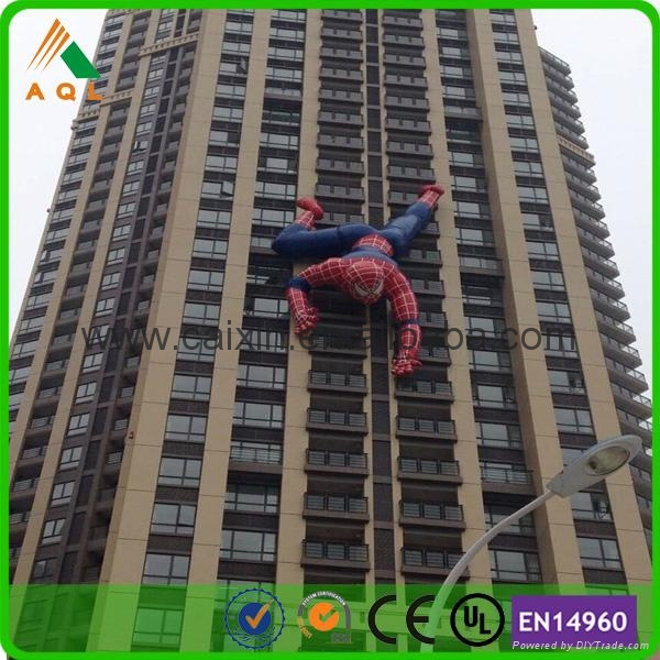 Electrifying giant inflatable spiderman 3