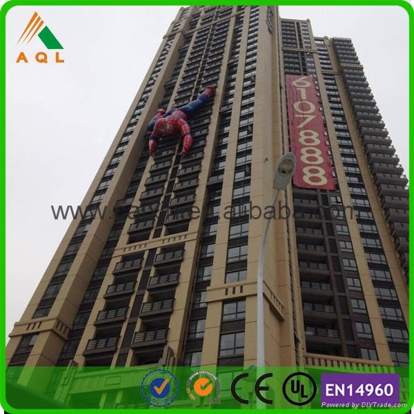 Electrifying giant inflatable spiderman 4
