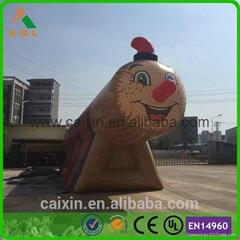 Spain Design wooden patten inflatable