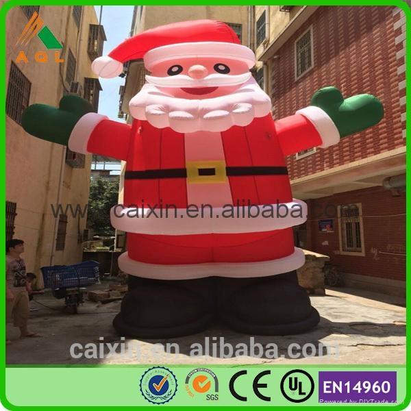 hot sale Christmas inflatable Santa Claus 1