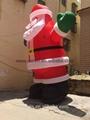 hot sale Christmas inflatable Santa Claus 2