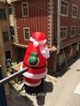 hot sale Christmas inflatable Santa Claus 3