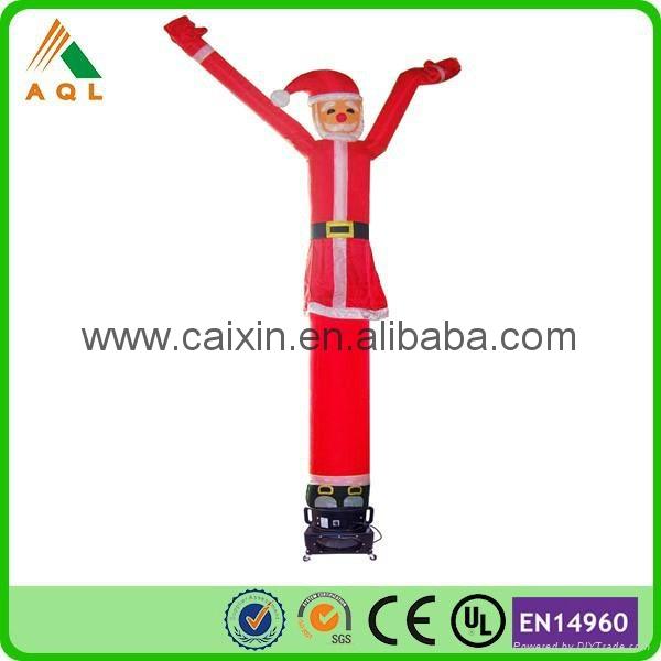 christmas mini inflatable air tube man 2