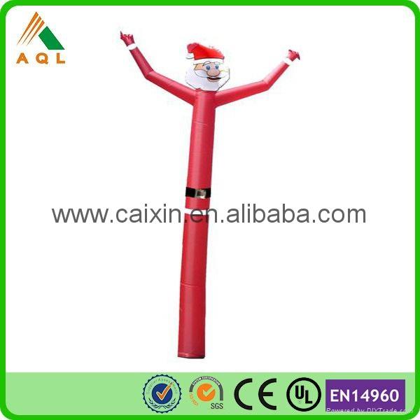 christmas mini inflatable air tube man 3