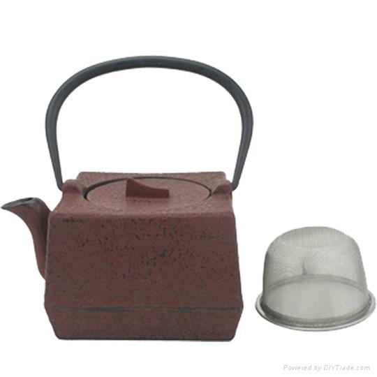 Chinese Cast Iron Teapot 1