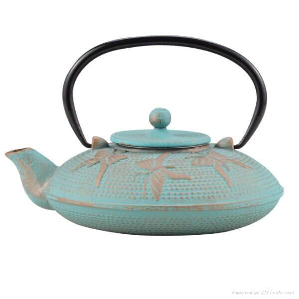 Butterfly Cast Iron Teapot 1