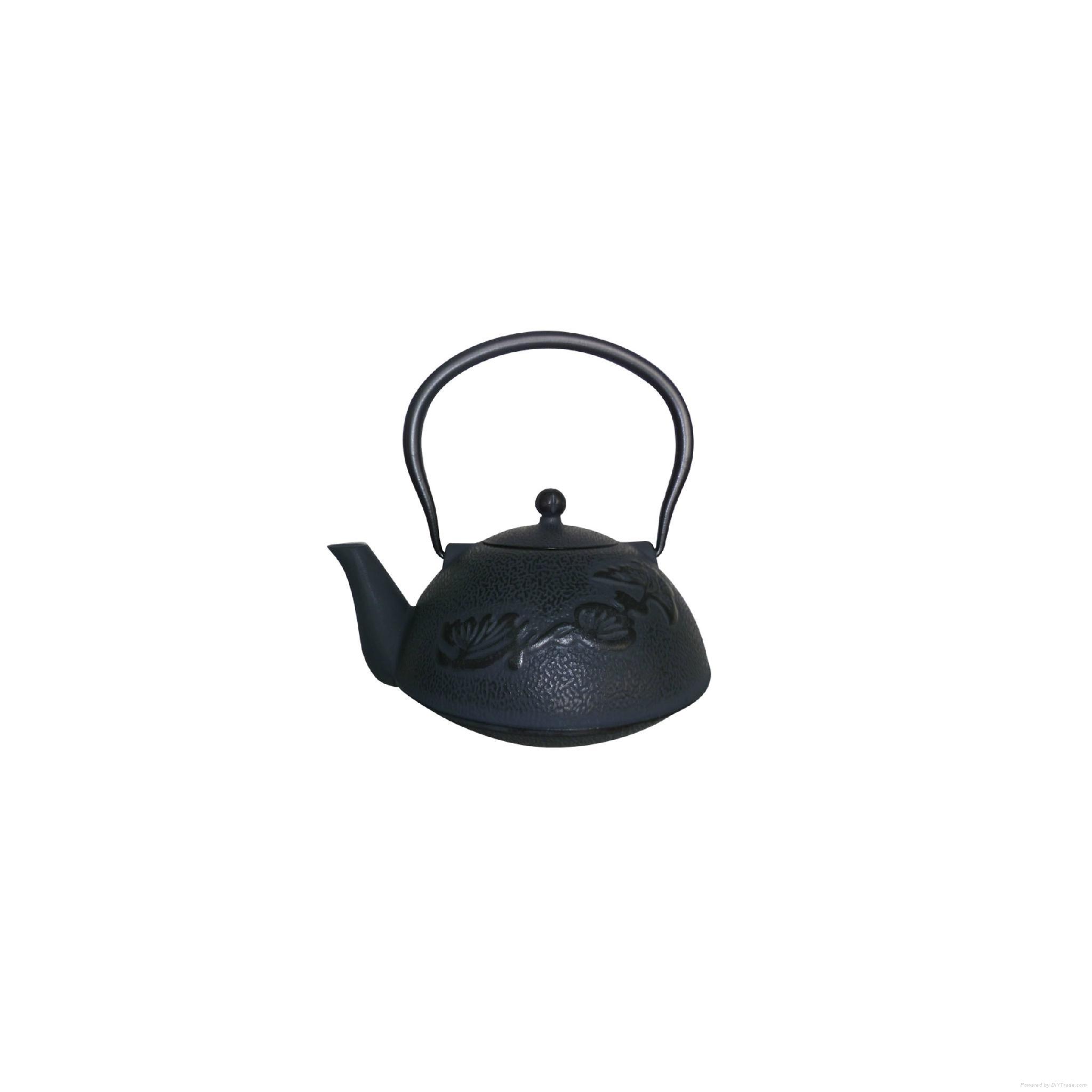 Antique Cast Iron Teapot 2
