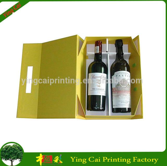 Guangzhou Factory Wholesale Custom Wine Box Packaging 2