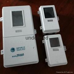 Waterproof GRP electric meter box