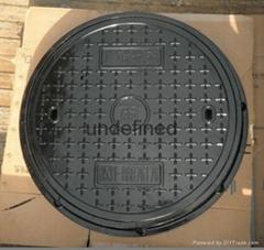 GRP fiberglass sewerage inspection manhole cover