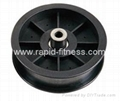 Raw Plastic Commercial fitness Pulleys
