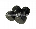 China Gym Weight Bench Part  Rubber Dumbbell