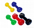 China Gym Rubber Casting Dumbbell