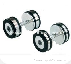 Bright Design Gym Rubber Casting Dumbbell