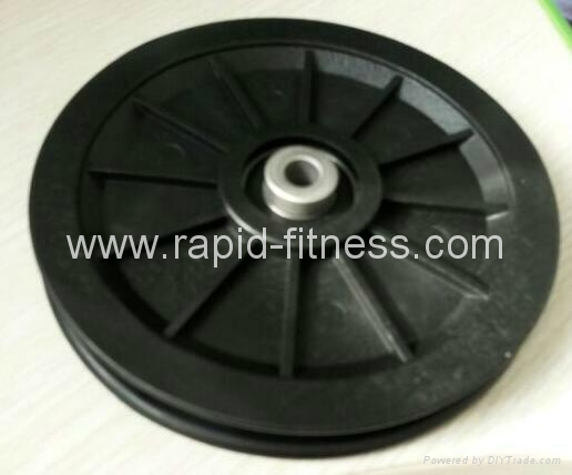Latest Design Plastic Gym Cable Pulleys