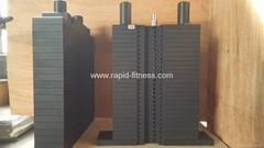 China 100% Steel Gym Weight Stacks Manufacturer