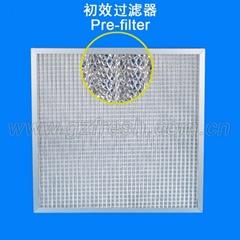 Metal mesh pre-filter