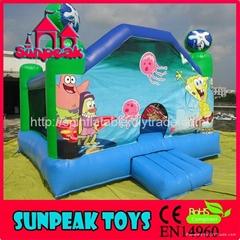 BO-391 Sunpeak Popular Commercial Inflatable Bouncer