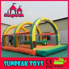 BO-405 Inflatable Jumping Tarpaulin Bouncer