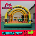 BO-405 Inflatable Jumping Tarpaulin Bouncer 3