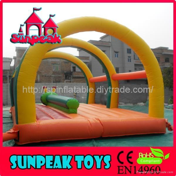 BO-405 Inflatable Jumping Tarpaulin Bouncer 4