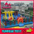 PG-124 Dinosaur Park Inflatable Bounce