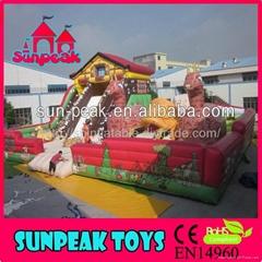 PG-149 動物園充氣跳床充氣玩具娛樂城