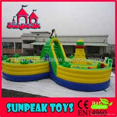 OB-141 Children And Kids More Fun Inflatable Obstacle Course