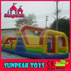 OB-143儿童充氣障礙玩具娛樂城