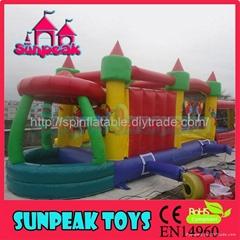OB-089儿童充氣障礙玩具娛樂城