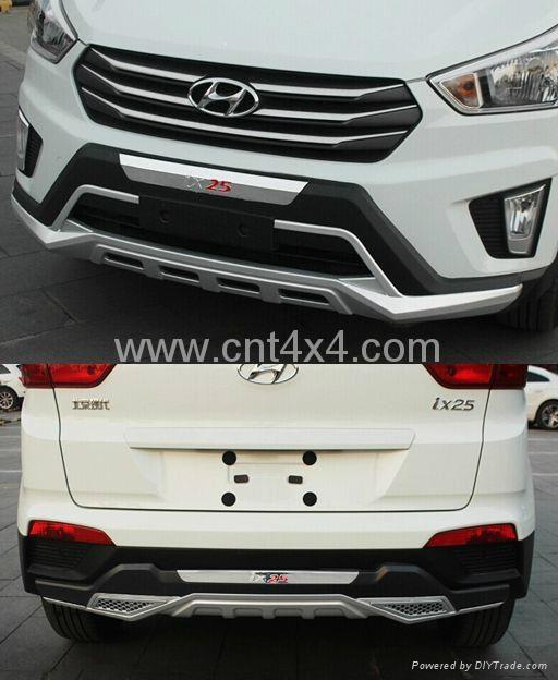 Bumper guard for hyundai ix25 creta ix25 001a 002a - Car exterior decoration accessories ...