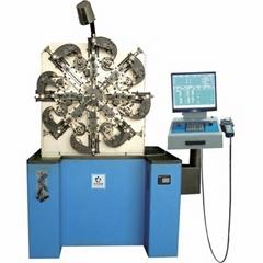 CNC universal spring machine for wire diameter range 0.8-3.5mm