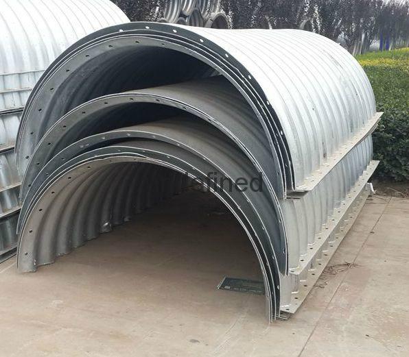 Corrugated Galvanized Pipe Drainage Pipe For Sale 10025